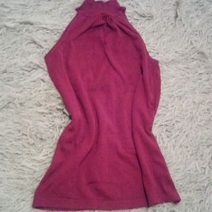 Mock neck sleeveless sweater from the limited NWOT